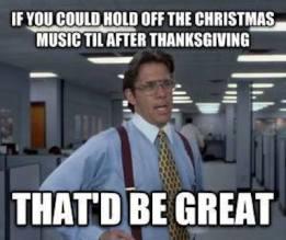 christmas music wait