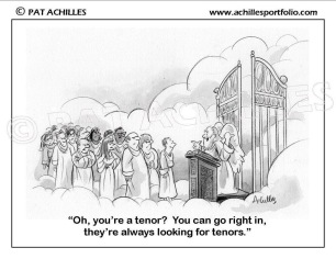 looking for tenors