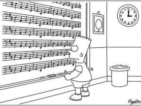 Pachelbel Canon and Bart Simpson