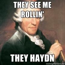 rollin they haydn